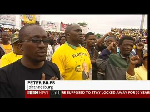 BBC News  2009 SA Election Coverage: Final Election Rallies - 19 April 2009 [HQ]