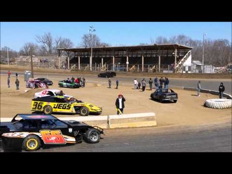 CJ Springer. 3/23/14 Belle-Clair Speedway - Play day Session 1