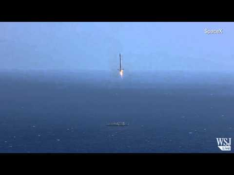 SpaceX Rocket Fails Attempted Landing