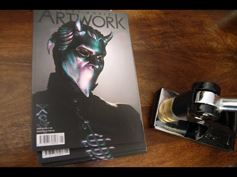 Heavy Music Artwork Issue 1 Dark Nouveau