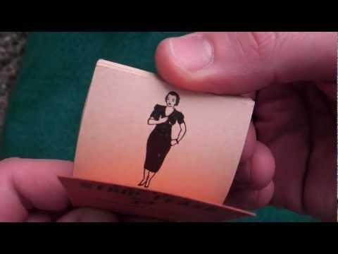 1950s Striptease Flipbook