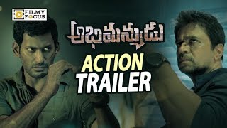 Abhimanyudu Movie Action Trailer ||  Vishal, Samantha, Arjun - Filmyfocus.com