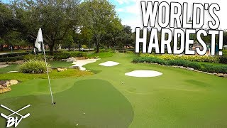 THE HARDEST MINI GOLF COURSE IN THE WORLD!
