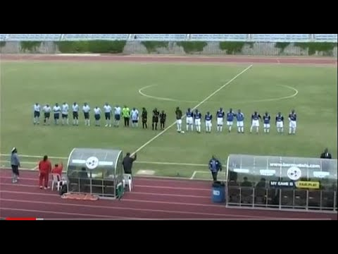 Bermuda Football Association Masters Final YMSC (City of Hamilton) vs St.George's 2014 Pt-1