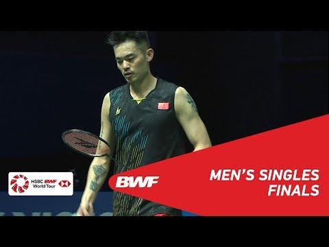 F  MS  CHEN Long CHN 4 vs LIN Dan CHN  BWF 2019