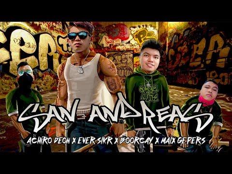 SAN ANDREAS - EVER SLKR X BOORCAY X ACR DEON X KKA MALX ( LYRIC VIDEO )