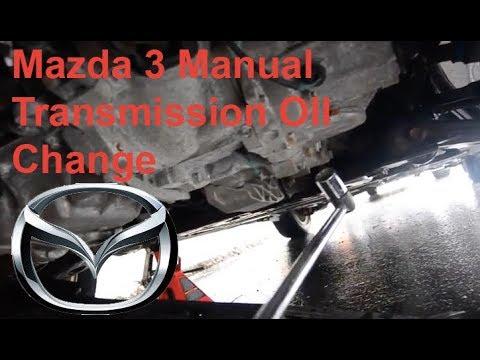 2009 mazda 3 manual transmission fluid