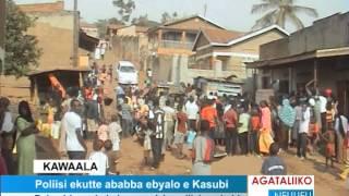 Poliisi ekutte ababba ebyalo e Kasubi