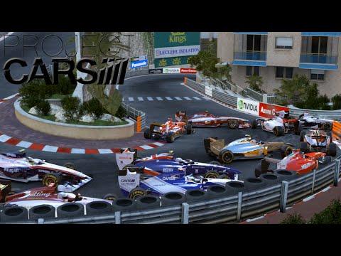 PROJECT CARS: F1 Rennen in Monaco überleben!