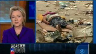Hillary Clinton on Haiti Relief Effort