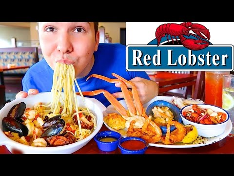 Red Lobster • Ultimate Seafood Feast  • MUKBANG