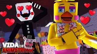 Minecraft: VIDA DE ANIMATRONIC #31 - PUPPET ESTÁ APAIXONADO PELA CHICA! ( FIVE NIGHTS AT FREDDY'S )