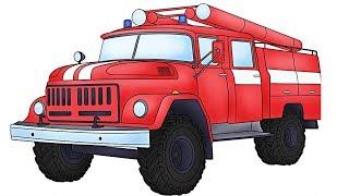 Поедем посмотрим на пожарную машину!