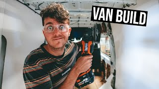 Building Our OffGrid Tiny House  Framing & Van Layout