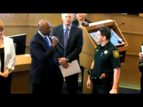 Cop Criticized At Ceremony: 'You're A Bad Police Officer'