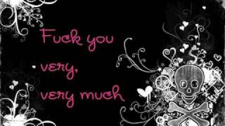 Lily Allen - Fuck you [with lyrics]