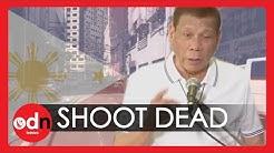 Philippine President Promises to 'ShootDead'Anyone Defying Lockdown Laws