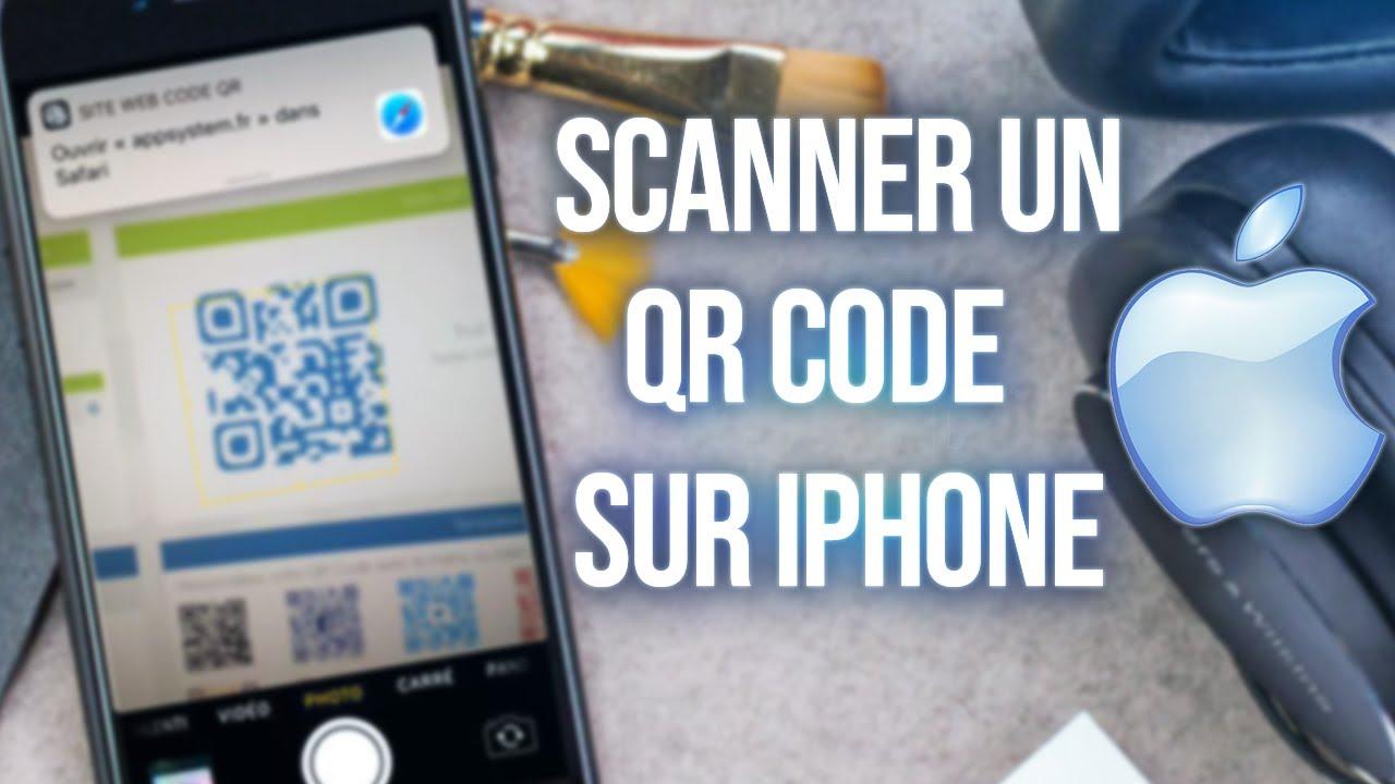 Comment Scanner un QR code sur iPhone en 5 secondes
