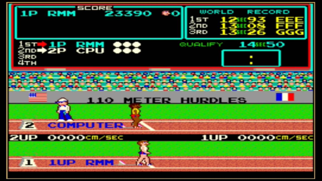 Arcade Archives Track & Field (Switch eShop) Game Profile ...