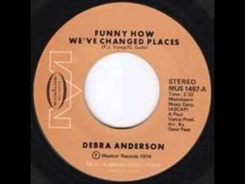 Debra Anderson   Funny How We Changed Places   70 S Modern S