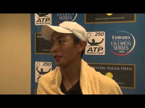 Yen-Hsun Lu Postmatch Interview 8/22/14