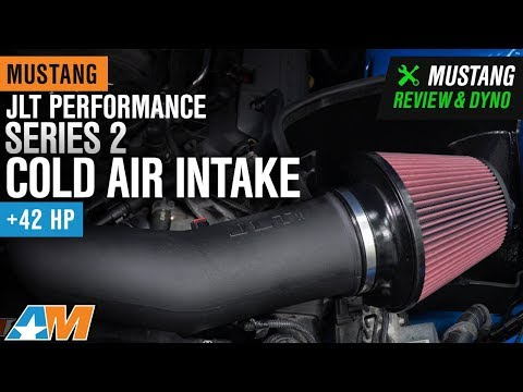 2011-2014 Mustang GT & BOSS 302 JLT Performance Series 2 Cold Air Intake Dyno & Review