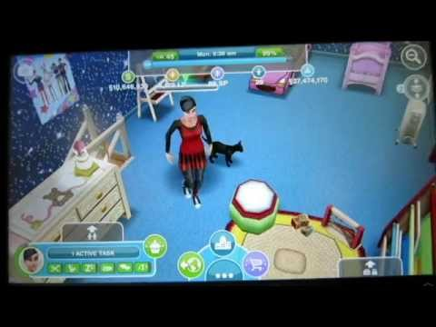 Sims FreePlay - Can't Hug Every Cat [Pet Glitch Video]