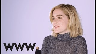 Kiernan Shipka Plays a Game of Witch Trivia | Which Witch | Who What Wear