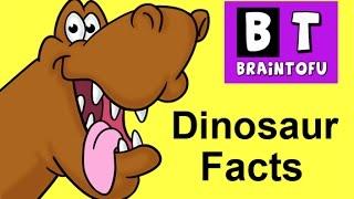 Dinosaur Facts - Kids learn fun dinosaur facts in this basic science cartoon