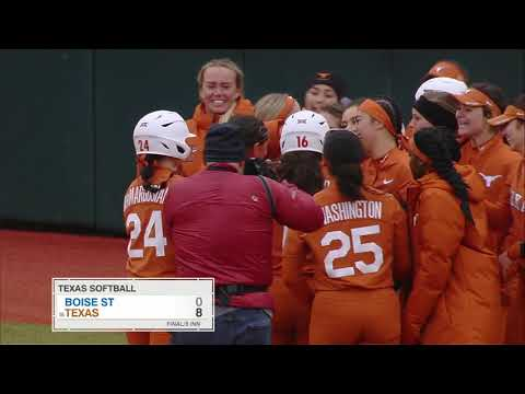 Texas Softball: Texas Classic Day 2 LHN Highlights [Feb. 9, 2019]