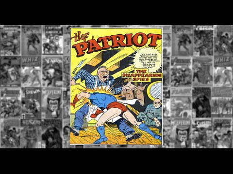 Image result for the patriot marvel mystery comics