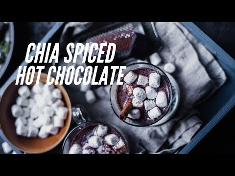 Chai Spiced Hot Chocolate | Perfect Rainy Day Drink