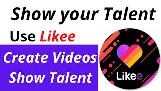 Use Likee-Let You Shine | Likee video app | Fazal Nabeel screenshot 4