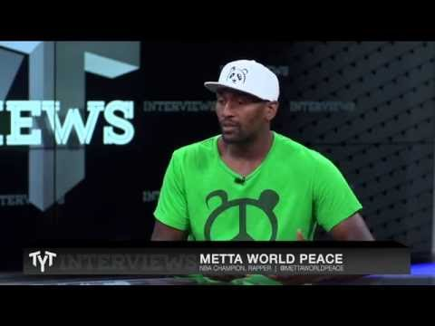 Metta World Peace Interview with Cenk Uygur on The Young Turks