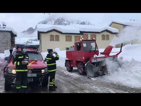 Nieve León Filomena: La UME en la Posada de Valdeón - Parte 7