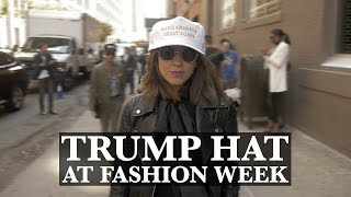 NY Fashion Week: Is Donald Trump's Hat Hot or Not?