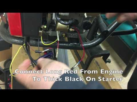 Electric Start Install on LT210 Engine - YouTubeYouTube