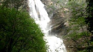 видео Водопад Учан-Су в Ялте (Крым): фото, как добраться, на карте, описание