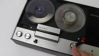 [1970年代]ソニーサーボマチックF TC 220A オープリール 動作良好!