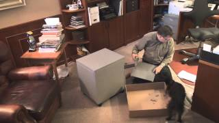 Dieter Helps Me Build A File Cabinet