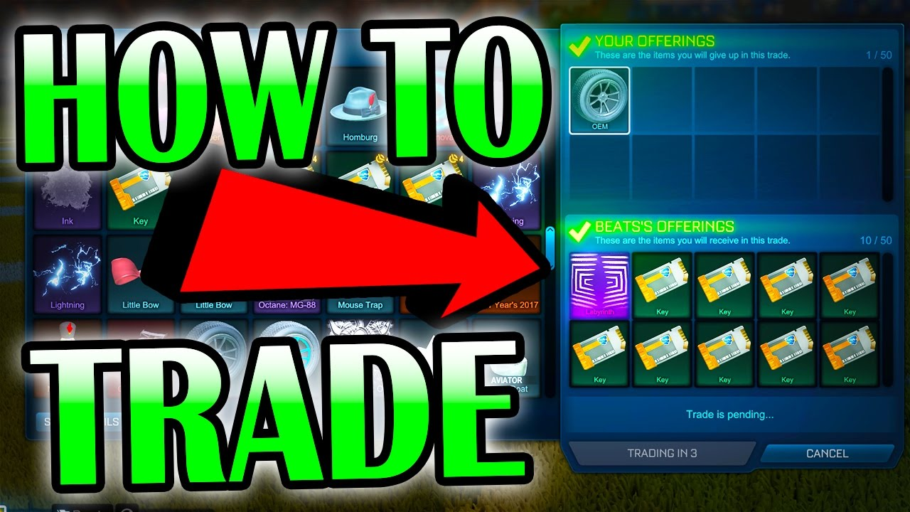 rocket league trading price guide