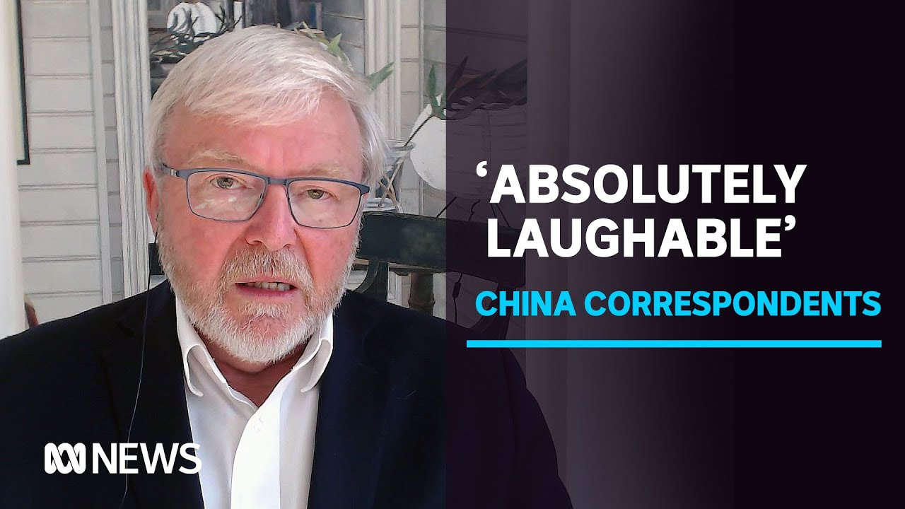 Kevin Rudd On Australia S Relationship With China Following Correspondents Departure Abc News Youtube