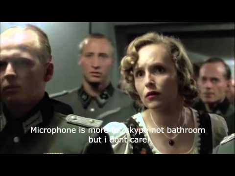 Hitler rages about Skype (ENG)