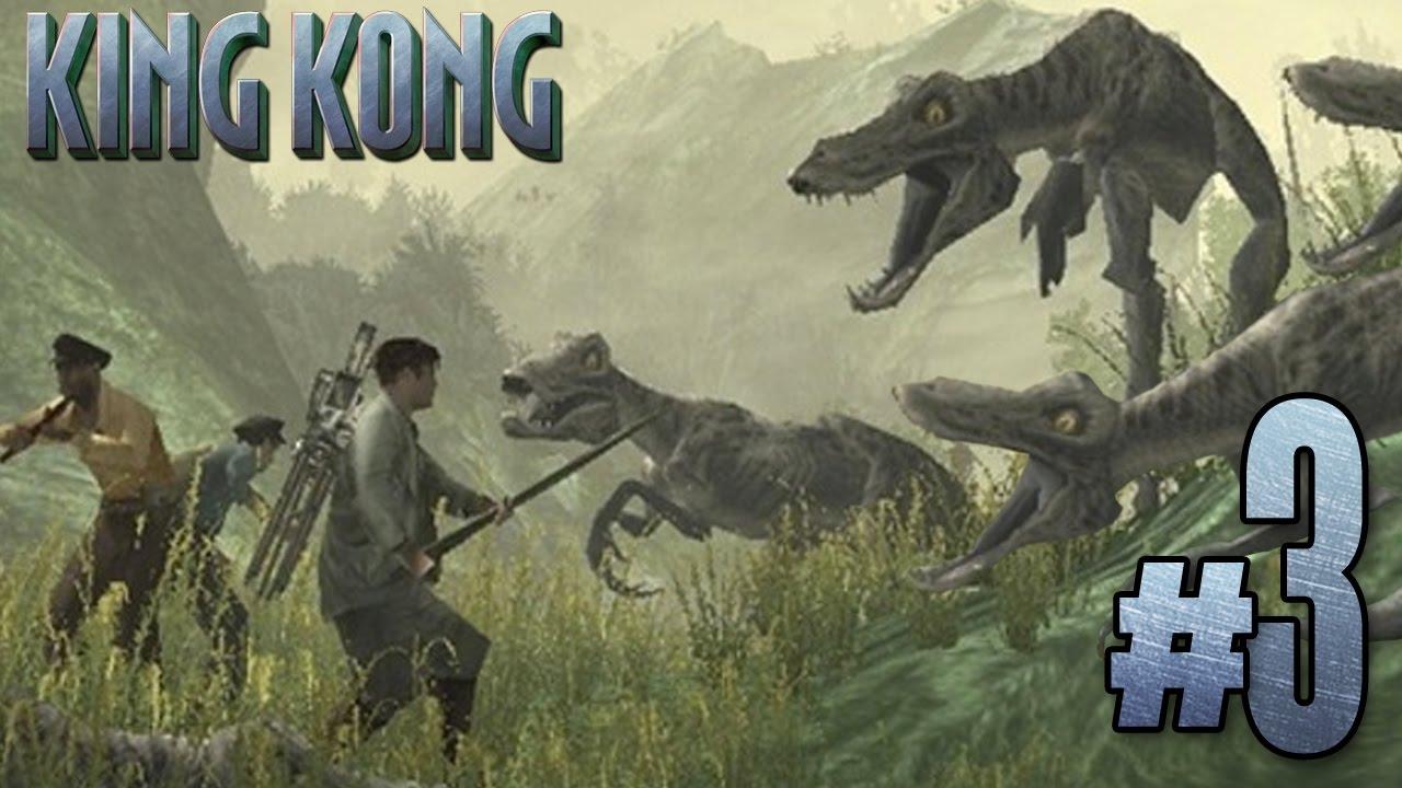 Dinosaur Stampede Peter Jackson S King Kong Ep3