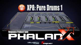 Vengeance Producer Suite - Phalanx XP8: Pure Drums 1 Demo