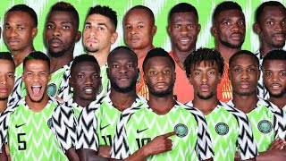 NFF President had a word with the Super Eagles