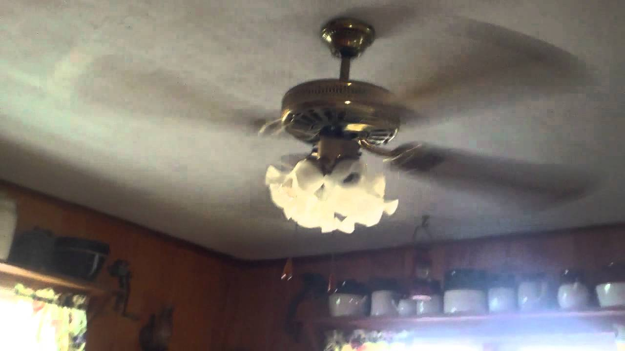 52 Quot Cei Ge Vent Ceiling Fan Youtube