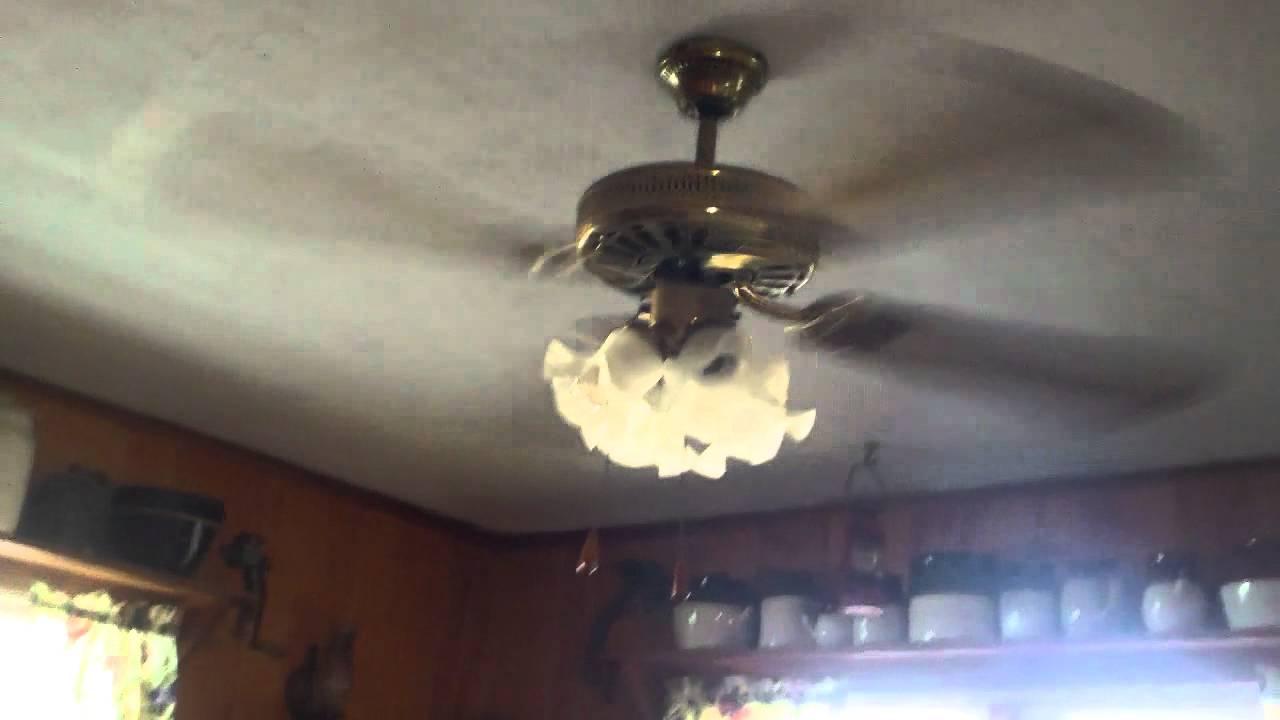 52 CEI GE Vent Ceiling Fan  YouTube