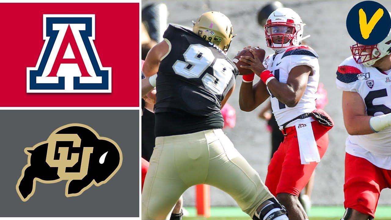 Arizona vs Colorado | Week 6 | College Football Highlights | 2019