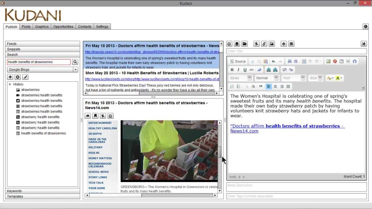 KUDANI - All In One Content Marketing Software review